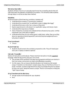 College Essay Writing Part 1 - Finding Your Voice