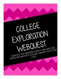 College Exploration Webquest
