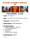 College Info Fact Sheets