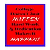 College Motivation Poster