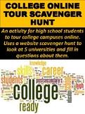 College Online Tour Scavenger Hunt