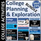 College Planning & Exploration Activity BUNDLE