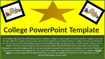College PowerPoint Template