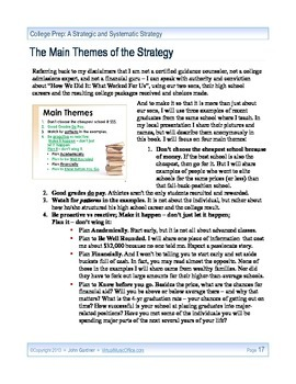 College Prep: A Strategic and Systematic Strategy