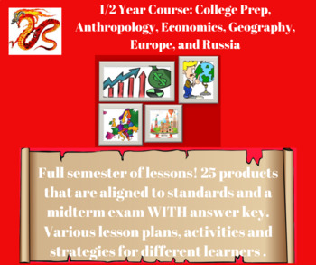 College Prep, Anthropology, Economics, Geography, Europe, and Russia: All in One