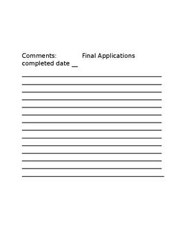 AVID College Prep Check List