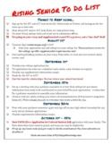 College Prep Checklist for the Rising Senior