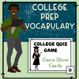 College Prep Vocabulary Lesson Plan and Quiz Game