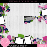 College Preppy Styled Mockups