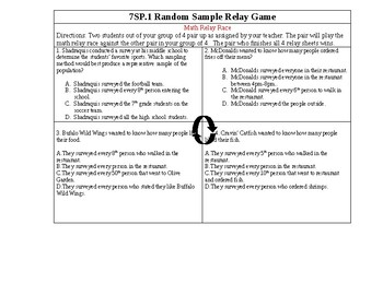 College Readiness Standard 7SP.1