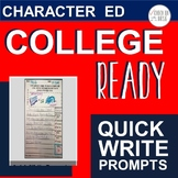 College Ready Writing Prompts