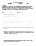 College Recommendation Request Form