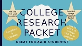 College Research Packet