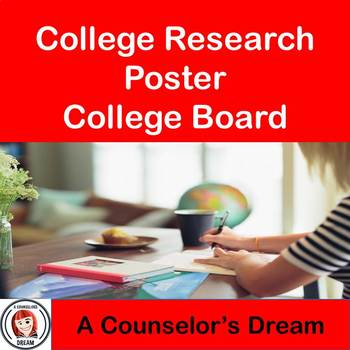 College Research Poster Using College Board Website