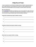 College Research & Presentation (AVID)