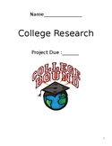 College Research Project- Editable