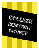 College Research Project PDF