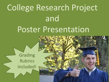 College Research Project and Poster Presentation