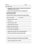 College Research for Business Letter