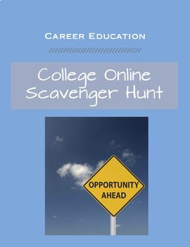 College Scavanger Hunt