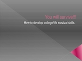 College Survival Skills based  on the book 7 Steps For Success
