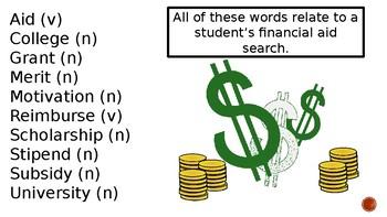 College Vocabulary