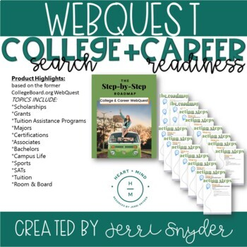 College Webquest || College Search, College Resource & Career Readiness ||