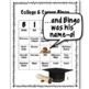 College and Career Bingo