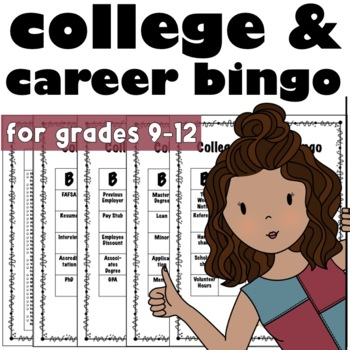College and Career Exploration Bingo