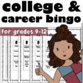 College and Career Exploration Bingo