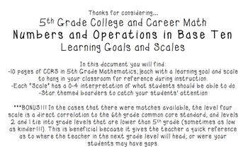 College and Career (Common Core) Mathematics - Numbers & Operations in Base Ten