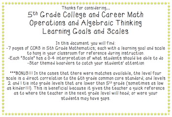 College and Career (Common Core) Mathematics - Operations