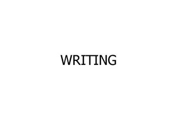 """College and Career (Common Core) """"Writing"""" - UPDATED"""