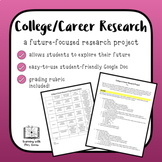 College and Career End-of-Year Research Project and Presentation