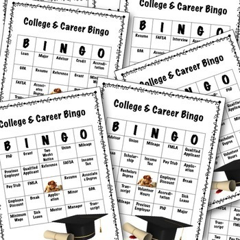 College and Career Lesson Bundle