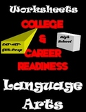 College and Career Readiness-Language Arts Worksheets