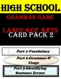 Grammar Game for High School-Edition 2