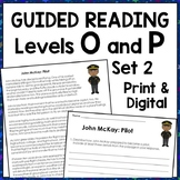 College and Career Readiness Reading Passages {Set 2}: Levels O & P