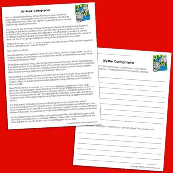Career Exploration Reading Comprehension Passages {Set 5}