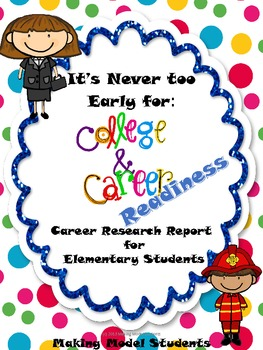 College and Career Readiness Research Report for Elementary Students