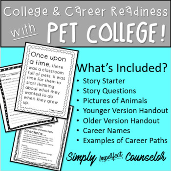College and Career Readiness with PET COLLEGE!