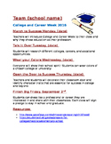 College and Career Week themes (handout)