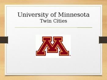 College of the Week PowerPoint BUNDLE