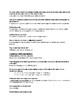 Colligative Properties Jigsaw Activity