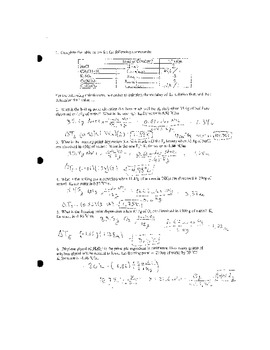 Colligative Properties Practice Worksheet by MJ | Teachers Pay Teachers