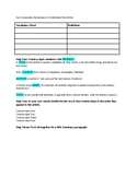 Collins 10% Summary Sheet in MS Word