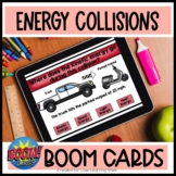 Potential and Kinetic Boom Cards | Energy Collisions | 4th