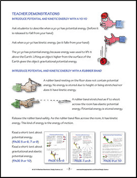 Collisions, Potential and Kinetic Energy