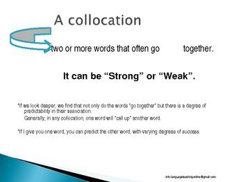 Collocations in English Language.