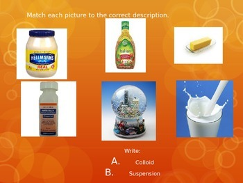 Colloid or Suspension? Science Starter